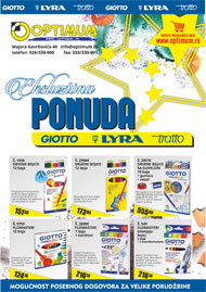Giotto, Lyra, Tratto