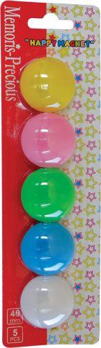 Magneti 40mm 1/5 u boji Memoris