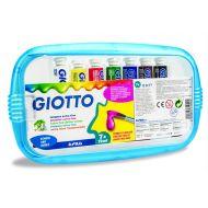 Boje tempere Giotto 12 ml 1/7 + četkica