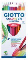 Boje drvene 1/24 Giotto colors 3.0 Acquarell