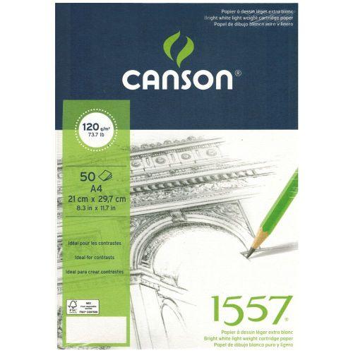 Canson 1557 A4 blok lajmovan 120 g/m²