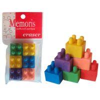 Gumica lego kocka 1/6 Memoris - RASPRODAJA