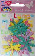 Craft leptir gliter