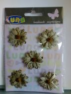 Craft paper daisies LUNA
