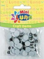 Craft oči 10mm Luna