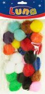 Craft pom pom 25mm