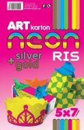 Art karton neon ris A4 1/35 250g