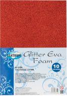 Eva pena A4 gliter samolepljiva 2.0mm 1/10 mix