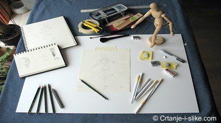 Pribor za crtanje i slikanje