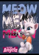 Sveska LUX A5/52 MP Talking Tom dikto