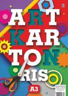 Art karton u boji A3 Ris 1/50 Mix boja