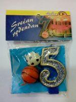 Rođendanske svećice sport