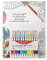Set gel olovka Penac Inketti 1/12 + bojanka za odrasle