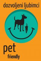 Nalepnica Pet Friendly A7