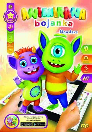 Bojanka 4D Monsters