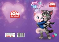 Čestitka Talking Tom and friends