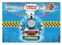 Fascikla A4 dugme pvc Thomas & Friends