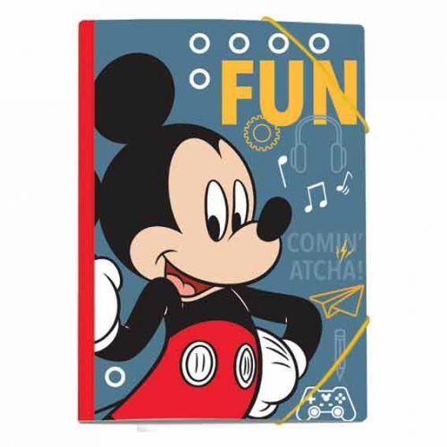 Fascikla A4 Mickey guma