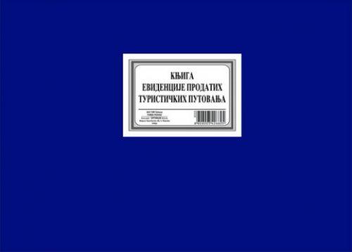 Knjiga evidencije prodatih turističkih putovanja A4/100 (STARA)