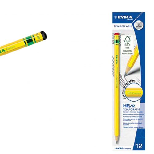 Olovka grafitna Lyra Temagraph B 1/12-RASPRODAJA
