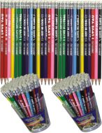 Olovka grafitna sa porukom 1/72