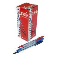 Olovka hemijska jednokratna crvena Memoris-RASPRODAJA