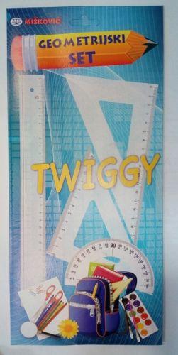 Trougao set 1/4 Twiggy