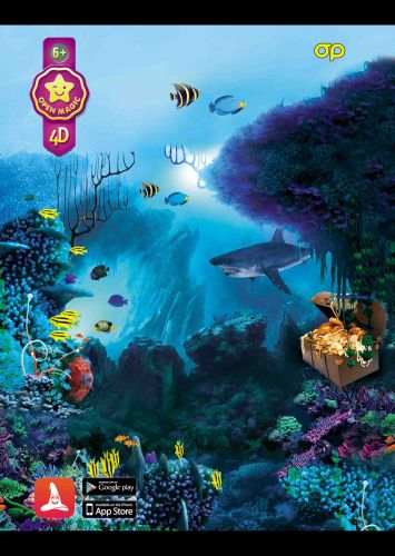 Puzzle 4D Shark - RASPRODAJA